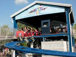 Before you know it, your 1:05 ride full of twists and turns is over!