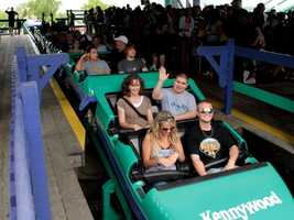 The steel coaster opened in 1991 as the Steel Phantom. Its name changed after it underwent major modifications in 2000 to enhance the rider experience.