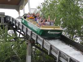"""The Pittsburg Plunge is the most visible piece of """"Lost Kennywood."""" Watch where you walk..."""