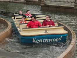 The ride can leave folks a bit drenched!