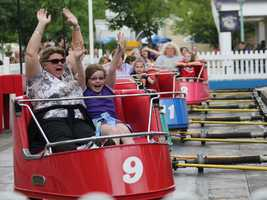The Whip opened in 1918 and is the oldest flat ride in Kennywood.