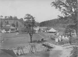 Oakford Park buildings after the flood of 1903. Some buildings still remain in disrepair. Have more modern photos from here? E-mail webstaff@wtae.com