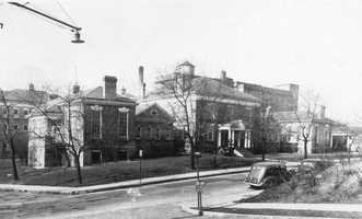 This is a photo of the Westmoreland Hospital in the 1930s.  The hospital was founded in 1898.