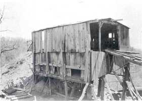 Penn Hills was carved out of what was one time a massive township known as Wilkins. (Pictured: Peterman Coal Tipple)