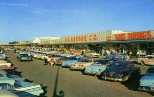 1950s - Consider that at the time it opened, the Miracle Mile was the first such shopping mall between New York and Chicago.