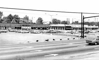 1960s - Earliest look at the Zayre's Plaza along Route 22.