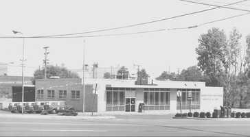 1970s - The old U.S. Post Office on Monroeville Boulevard.