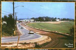 1970 - Crews begin the widening of Monroeville Boulevard.