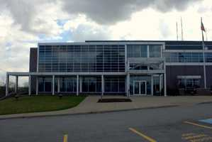 2012- Monroeville's new municipal building. It opened to the public in 2000.