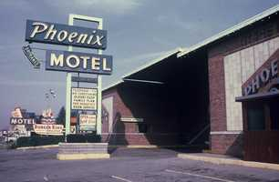 1970s - The Phoenix Motel along Route 22, less than a mile from the Pennsylvania Turnpike.
