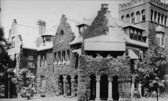Lyndhurst, the name of William Thaw's Gothic Revival home at 1165 Beechwood Blvd. Construction began in 1887, but the property was later sold by Mary Thaw to pay for her son Harry's legal defense. Harry was arrested for murdering prominent architect Stanford White in 1906.   The home was demolished in 1942.