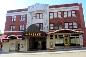 Modern-day look at the Palace Theatre building