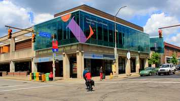 The land is now home to the Squirrel Hill Carnegie Library branch.