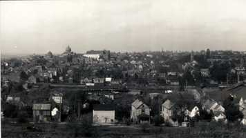 Here is a panoramic view of the city of Washington from the year 1911.