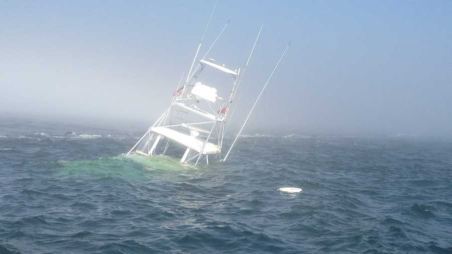 Local men rescued after fishing boat hits rocks for Nj shore fishing