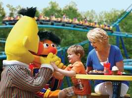 Sesame Place: Alcohol is not served in the park.