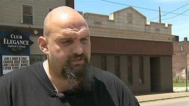 Braddock Mayor John Fetterman