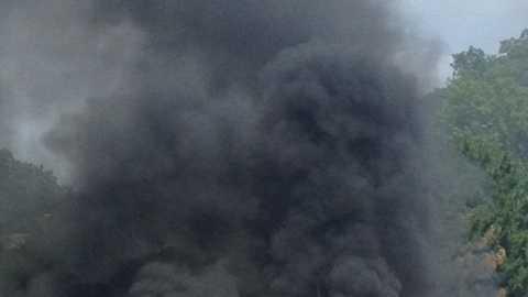 Monroeville car fire