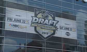 NHL Draft at Consol Energy Center