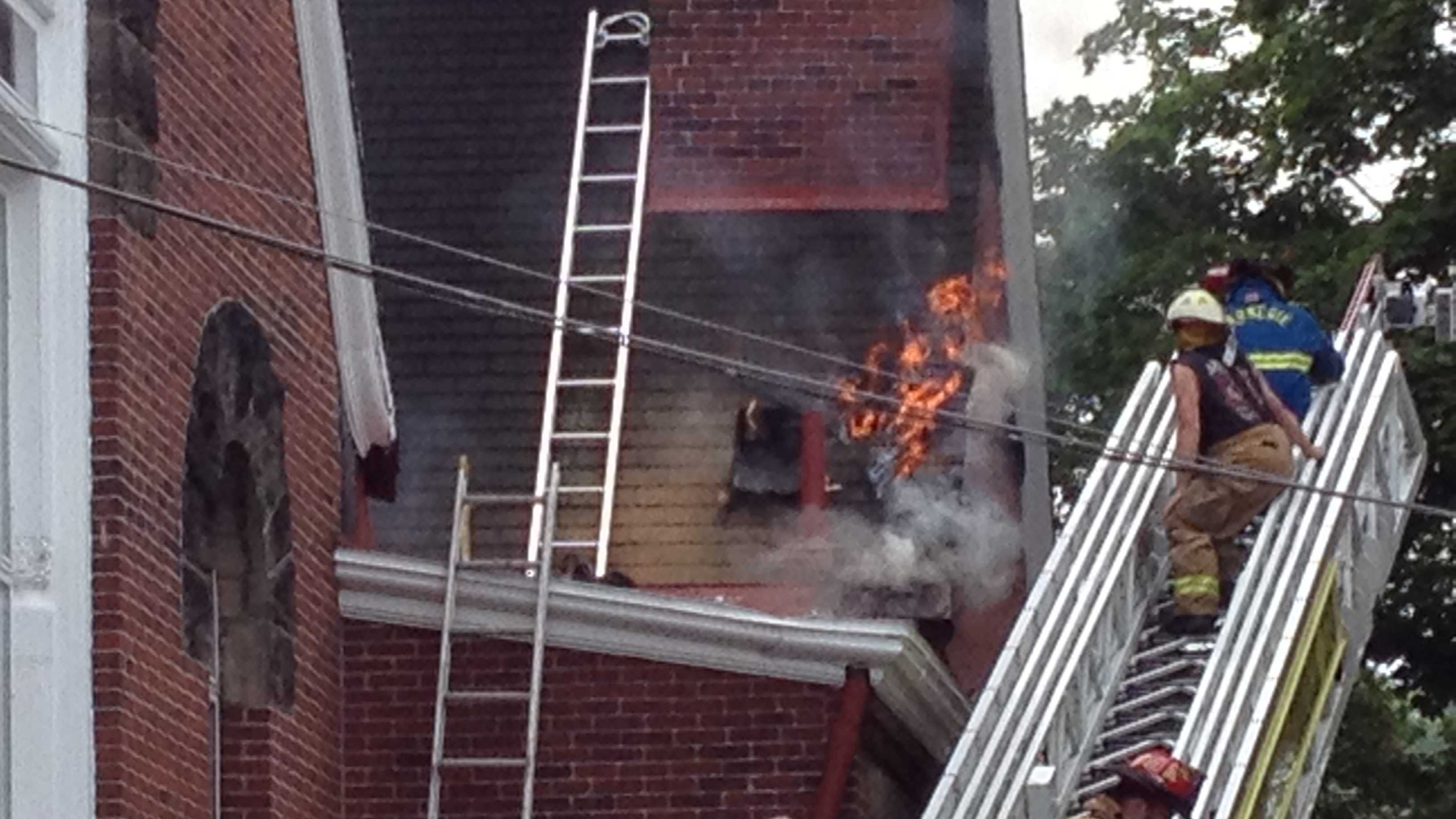 Carnegie church fire