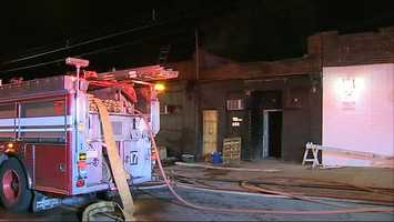 Sin City Deciples motorcycle club fire