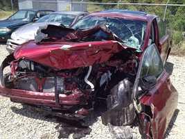 North Huntingdon crash