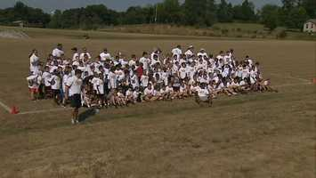 Pittsburgh Steelers Youth Football Camp