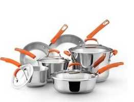 Four different brands of cookware to choose from. Click here to preview all auction items.
