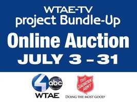 More than 400 items will be auctioned online from July 3 through July 31 for the 26th Annual WTAE Project Bundle-Up Auction.  Browse through some of the items you will find.