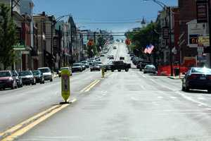 This is Main Street in neighboring Ashland, PA. It remains a bustling community with a thriving main street. Walking through this town, you'd never know what has happened to its one time neighbor.