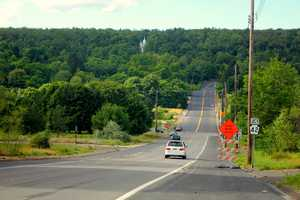 Driving into Downtown Centralia. Back in the 1980s and 1990s, this area was filled with homes and businesses.
