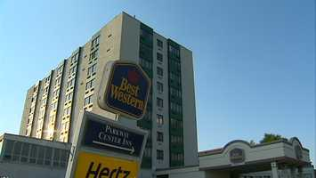 The Best Western hotel in Green Tree.