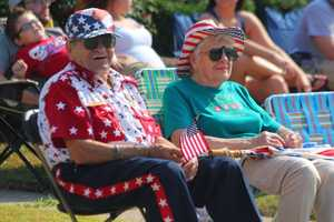 For others, its all about the tradition of coming to the same spot each year, and watching the parade. It's a custom that many have passed down to their children.