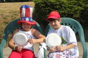 Smiles, signs of love and patriotism could be found along the entire parade route.