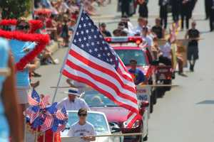 The Canonsburg Fourth of July parade celebrated its 50th anniversary this year, and thousands lined up along the parade route through town Wednesday.