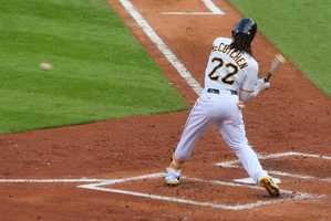 Fans most likely knew McCutchen would be special when he had his first three home run game against the Nationals at PNC Park on August 1, 2009. The Buccos won that game 11-6.