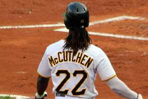 McCutchen said he's probably better known for his hair.