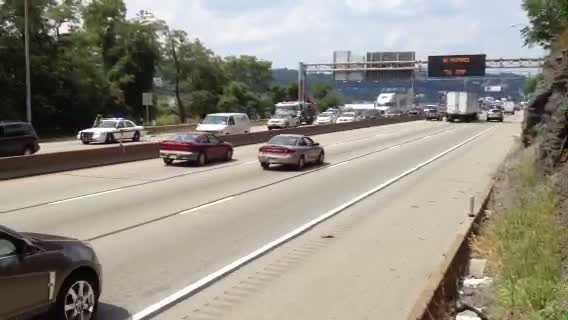 Parkway East diesel spill