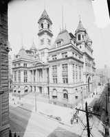 A look at the Pittsburgh Post office circa 1904.