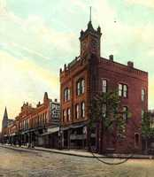 12/8/1914: The McWilliams Building at the corner of 3rd and Main Street in Irwin.