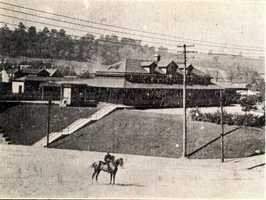 The former Pennsylvania Railroad Depot in Irwin
