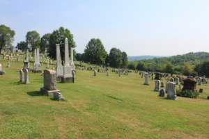 A look at the modern-day Brush Creek cemetery