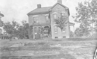 The original Mt. Lebanon United Presbyterian Church parsonage on Washington Road was erected for the Rev. John Boyd who served the church, then known as St. Clair United Presbyterian, from 1858 until his death in 1903.