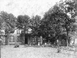 The Kulhman house stood at 731 Washington Road. In January 1920, four and a half acres of the Kulhmans' orchards fronting Washington Road were purchased and leveled to make way for Washington School.