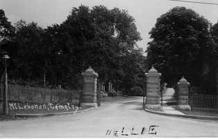 Henry Bockstoce sold the land on which he had operated a nursery to local businessmen who wanted to start a cemetery. Although it opened with a grand gala on June 25, 1874, the corporation soon failed and was sold at sheriff's sale in 1880. It reopened under new management in 1899.
