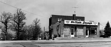 Mike's Pizza, which shared a storefront with St. Clair Lounge on Bower Hill Road, is said to have been the first pizza shop in Mt. Lebanon.