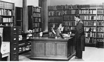Mt. Lebanon Public Library opened on November 15, 1932, in the Mt. Lebanon Municipal Building.