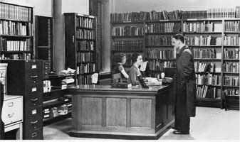 Mt. Lebanon Public Library opened on November 15, 1932, in the Mt. Lebanon Municipal Building.