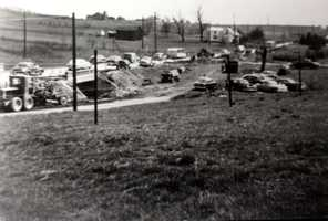 This photo is from 1952, when Perry Highway/Route 19 was expanded into a four-lane highway.