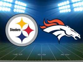 Week 1: Steelers at Denver, Sept. 9. (FINAL: Broncos 31, Steelers 19)